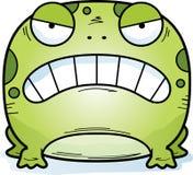 Сердитая маленькая лягушка бесплатная иллюстрация