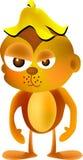 сердитая обезьяна Стоковая Фотография