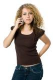сердитая осадка телефона Стоковые Фотографии RF