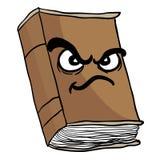 Сердитая старая книга Стоковые Изображения RF
