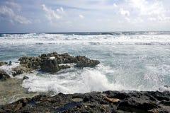 сердитое море кораллового рифа Стоковые Изображения RF