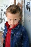 сердитые глаза стоковое фото