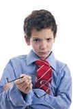 сердитый бизнесмен немногая Стоковые Изображения RF
