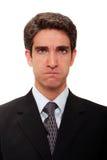 сердитый бизнесмен Стоковое Изображение RF