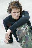 сердитый мальчик подростковый Стоковое Изображение RF