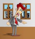 сердитый менеджер был кто бесплатная иллюстрация