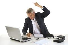 сердитый менеджер очень Стоковое Изображение RF
