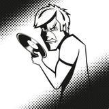 сердитый мужчина Стоковое Фото