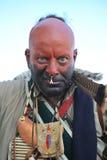сердитый смотря ратник Стоковое Фото