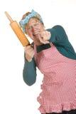 сердитый супруга дома стоковая фотография