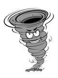 Сердитый ураган иллюстрация вектора