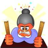 сердитый учитель Стоковые Изображения RF