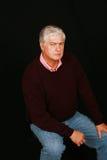 сердитый человек старый Стоковое Изображение RF