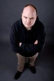 сердитый человек Стоковые Фотографии RF