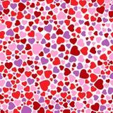 сердца безшовные Стоковые Изображения RF