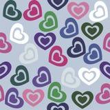 сердца безшовные Стоковое Изображение RF