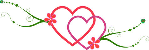 сердца блокируя лозы Стоковое фото RF