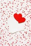Сердца Валентайн. Стоковые Изображения RF