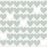 Сердца в зиме красят предпосылку scrapbook Стоковые Фото