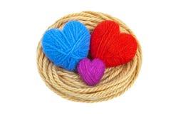 Сердца в nest-3 Стоковое Фото