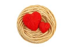 Сердца в nest-5 Стоковые Фото