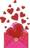 сердца габарита Стоковое Изображение RF
