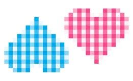 сердца делают по образцу 2 Стоковое Изображение