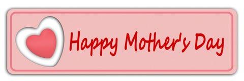 Сердца дня ` s матери счастливые Стоковое Изображение RF