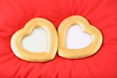 сердца золота Стоковая Фотография RF