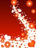 сердца конструкции флористические бесплатная иллюстрация
