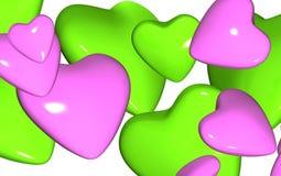 сердца конфеты близкие вверх Стоковая Фотография RF