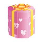сердца коробки восьмигранные Стоковые Фотографии RF