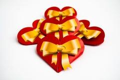 сердца красные Стоковое Изображение