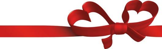 сердца подарка полосы Стоковые Фото