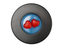 сердца покрывают 2 Стоковое Изображение
