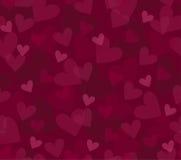 сердца предпосылки безшовные Стоковые Фото