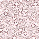 сердца предпосылки безшовные Стоковое Изображение RF