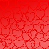 сердца предпосылки стоковые изображения rf