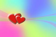 сердца предпосылки стоковое фото