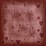 сердца предпосылки Стоковые Фотографии RF