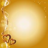 сердца предпосылки Стоковая Фотография