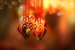 Сердца пряника Стоковое Изображение RF