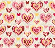 сердца ретро Стоковые Фото