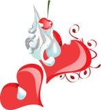 сердца сладостные иллюстрация вектора