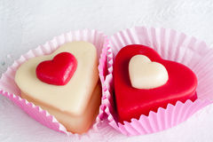сердца сладостные Стоковое Фото