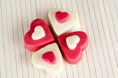 сердца сладостные Стоковые Фотографии RF