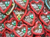 сердца сладостные Стоковые Изображения