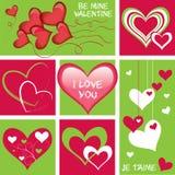 сердца собрания Стоковое Фото
