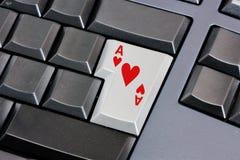 сердца туза Стоковая Фотография RF