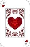 сердца туза Стоковое фото RF